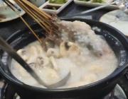 浦东杨思的盈田盈粥庄,粥里吃火锅挺新鲜