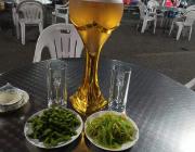 吃遍上海之宝山香里浓海鲜酒楼,酒店外的大排档性价比超高